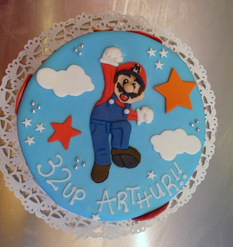 Super Mario Birthday Cake by CAKE Amsterdam - Cakes by ZOBOT