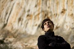 Christina on Vrachokipos (Vertical Planar) Tags: athens greece climbing limestone rockclimbing tufas  hymettos ymittos    vrahokipos vrachokipos  wwwathensclimbingcom