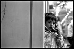 (lecerd) Tags: portrait blancoynegro film argentina 35mm blackwhite phone florida retrato streetphotography olympus telefono calles cerdo rollo