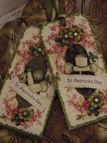 St Patricks Day tags 2