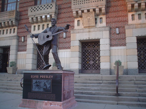 First place Elvis Presley performed, Shreveport, Louisiana