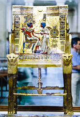 Tutankhamen's chair
