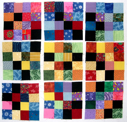 Scrappy 16-Patch blocks