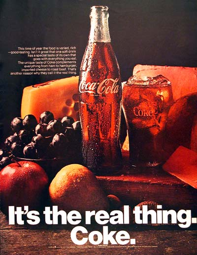 Coke - It's the Real Thing