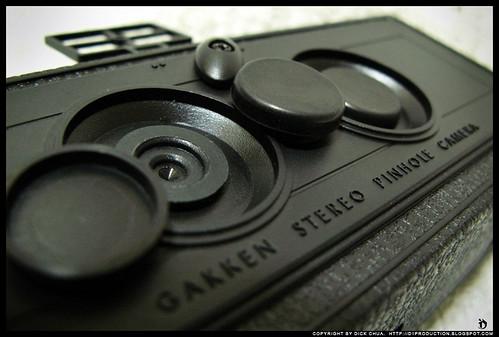 Gakken Stereo Pinhole Camera