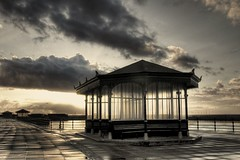 Gimme shelter (*Richard Cooper *) Tags: hdr wirral newbrighton