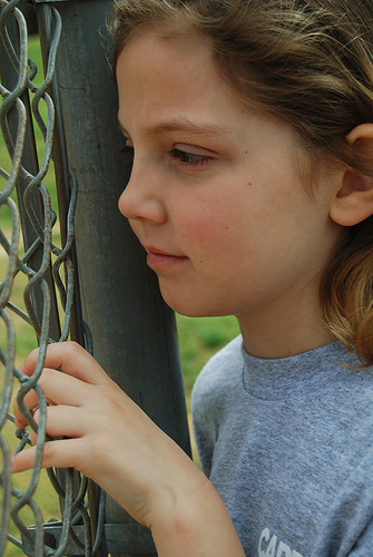 Grace at the Fence