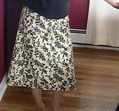 sheet skirt