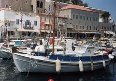 Sailing boats (Ed Chadwick) Tags: leica film kodak greece portra m2 hydra 160nc
