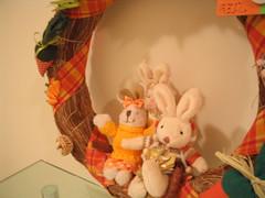 Guirlanda de Pscoa: IG00107 (Ig Salles) Tags: natal artesanato guirlanda coelho coelhos decorao pascoa caixas caixinhas