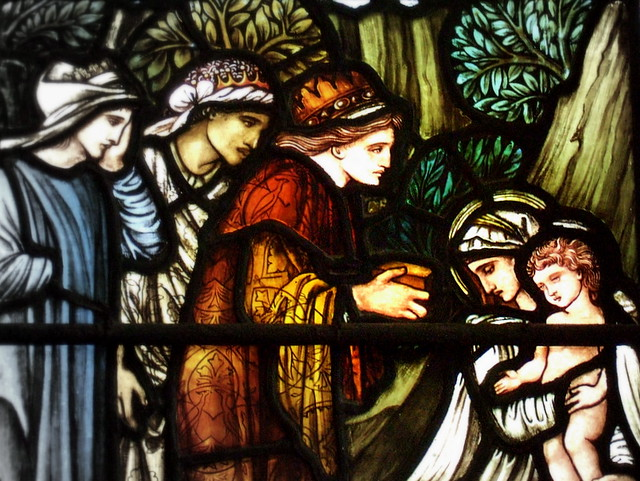 "Detail of ""The Adoration of the Magi"""
