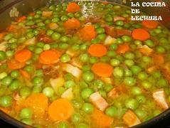 Huevos escalfados-verduras