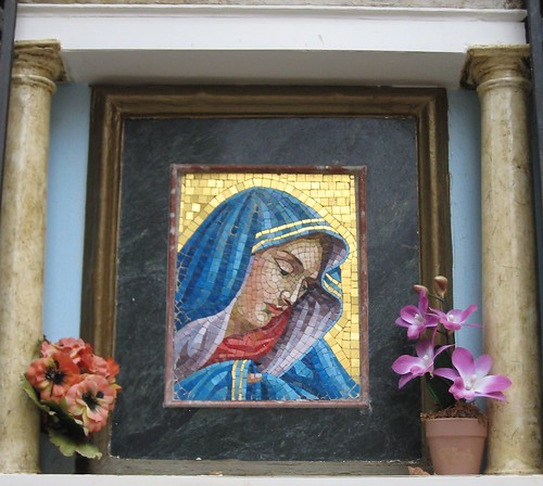 mosaic madonna