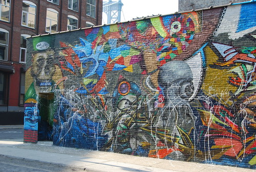dumbo brooklyn streetart