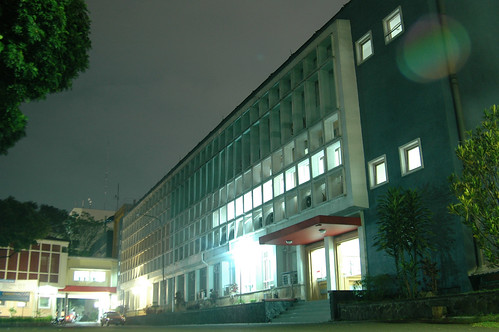 SBM-ITB at night
