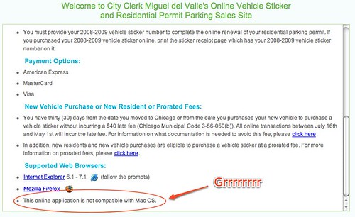 City of Chicago Vehicle Sticker Purchase