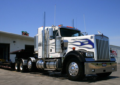 Dingess blog  kenworth w900
