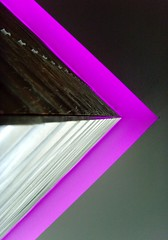 Optical illusion (michaelab311) Tags: light beautiful wall architecture corner grey restaurant purple geometry lavender grau lila again lilac illusion architektur mauve bold lilas esskultur linescurves anawesomeshot colorphotoaward flickrjobdiff goldenphotographer waytothewashroom violtre