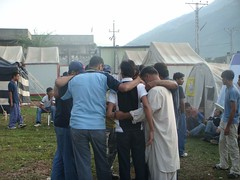 Trainers' team (Ali Manzer) Tags: pakistan summer camp training relief 2008 welfare balakot alkhidmat akws