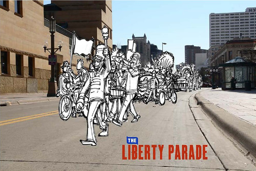 Liberty Parade concept sketch