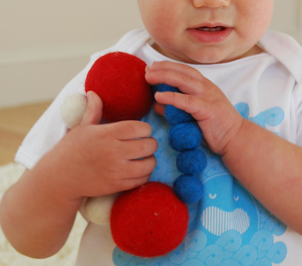 Spacepop Felt Rattle
