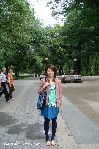 要進去中央公園了