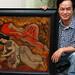 0013-036 Hanoi - Studio visit - Hoang Dinh Tai
