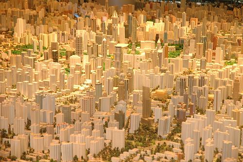 2737572509 e22b63f4ce Maquete de 100m² mostra Shanghai em 2020
