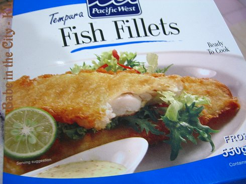 Pacific Tempura Fish Fillets Box
