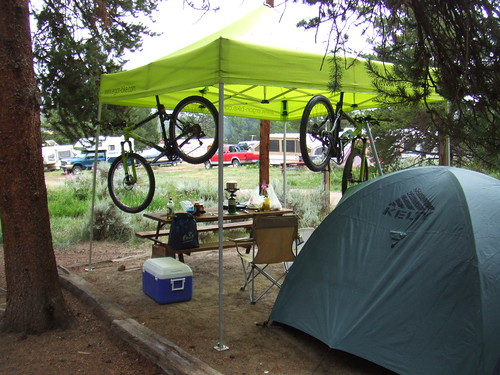 Kamp Kerkove at the Leadville 100