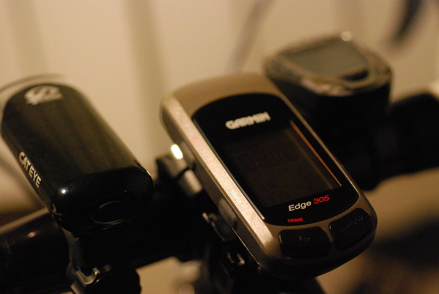 Garmin Edge 305 GPS-enabled cycle computer