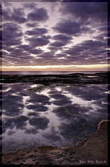 Cotton Balls (l plater) Tags: seascape clouds sunrise landscape dawn rocks waves horizon sydney australia northernbeaches deewhybeach anawesomeshot almostanything flickrelite theperfectphotographer lplater unlimitedphotos