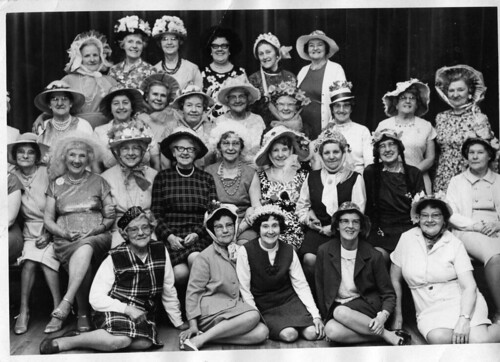 A Bonnet festival c 1970 Marple Stockport Cheshire