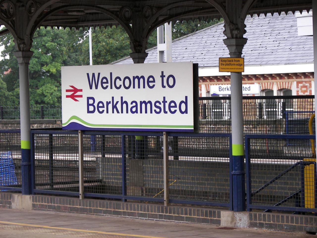 Naar Berkhamsted met de EuroStar