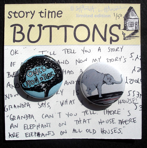 Story Time Buttons