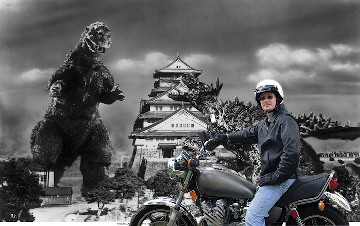 sam and godzilla