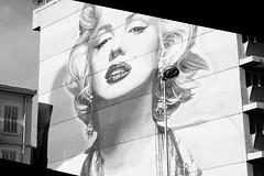 MARILYN (Austrian Alex) Tags: blackandwhite marilyn architecture cannes song marilynmonroe eltonjohn monroe publicart candleinthewind thechallengefactory superherochallenges pregamewinner pregamesweepwinner theduelpregamesweepwinnersonly pregameduelwinner