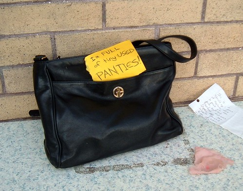 Mystery purse at 37th & Hawthorne
