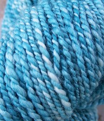 Merino Silk Mint Julep Closeup