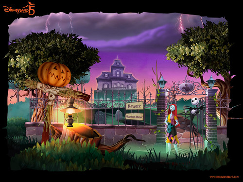 Disneyland Paris Halloween 2008 wallpaper