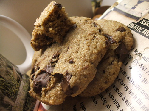 whole wheat chocolate chip cookies1