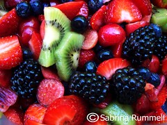 fruit_salad2_sm (fringefalcon) Tags: summer food plants fruit garden cherry salad juicy yummy healthy strawberry berries blackberry gardening juice seasonal grow tasty blueberry health growing organic diet kiwi arrangement fruity assorted vitamins ripe essentials nutrition dieting nutritious nutrients