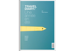 Travel Diary / cover ([GW] GrafikWar) Tags: grid buenosaires montreal traveldiary graficdesign fromfrance grafikwar