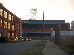 Third Base Box & Reserved (sparky05) Tags: abandoned unitedstates stadium michigan detroit demolition tigerstadium mlb detroittigers americanleague majorleaguebaseball