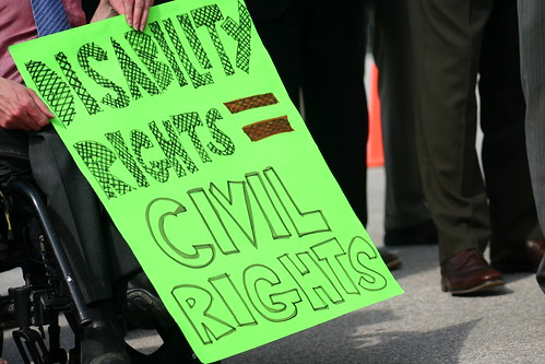 Disability Rights = Civil Rights by The Leadership Conference on Civil and Human Right, on Flickr