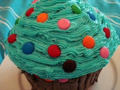 Giant Cupcake - Closeup