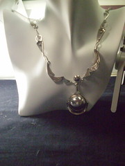 Egyptian style necklace (kanddster@gmail.com) Tags: silver handmade jewelry egyptianstyle