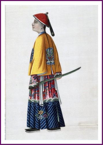 007- Mandarin militar de segundo orden 1820