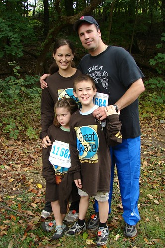 Family at Great Race