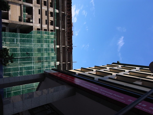 Two Buildings, Full-Sized Ricoh GX200 Sample -- R0010155